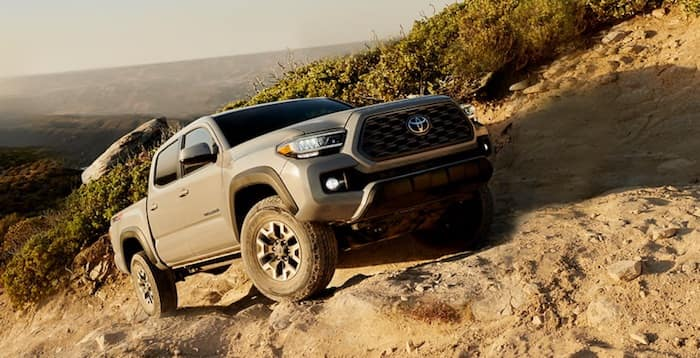 2020 Toyota Tacoma Hill Start Assist Control