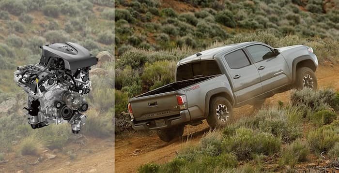 2020 Toyota Tacoma 3.5-liter V6 direct-injection engine