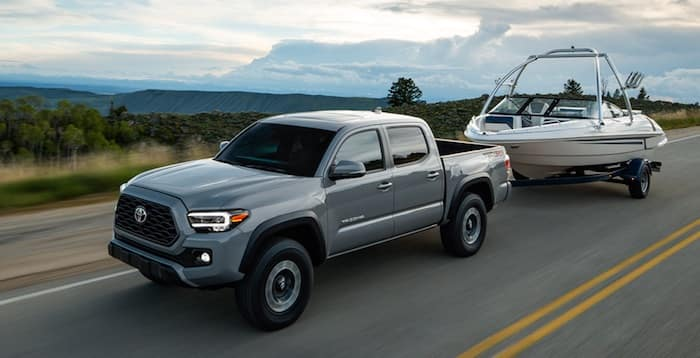 2020 Toyota Tacoma towing & payload up to 6800 lbs