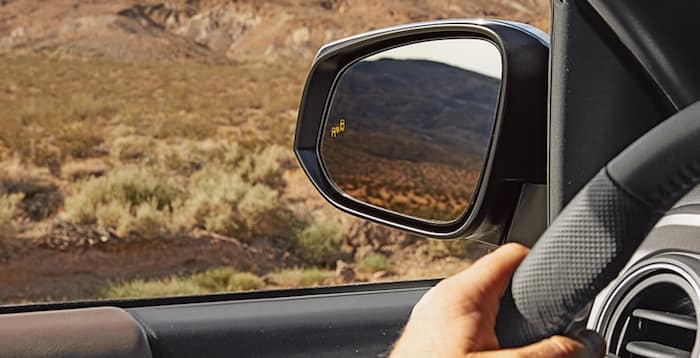 2020 Toyota Tacoma Blind Spot Monitor with Rear Cross-Traffic Alert