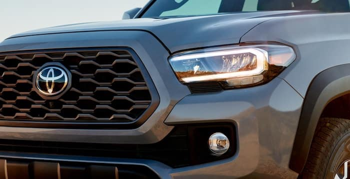 2020 Toyota Tacoma available LED headlight package