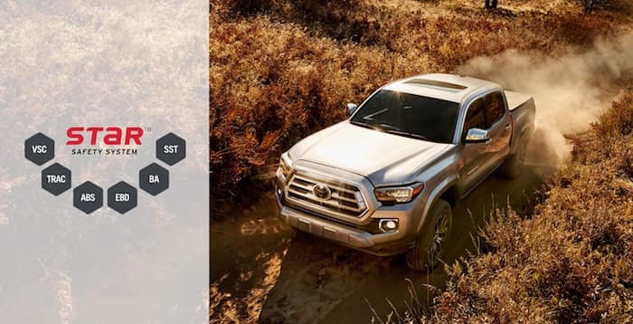 2020 Toyota Tacoma Star Safety System