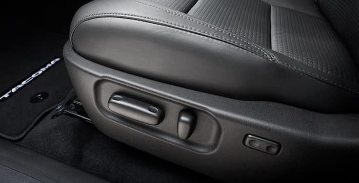 2020 Toyota Tacoma available power-adjustable seat