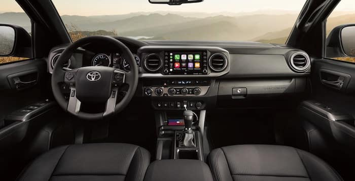 2020 Toyota Tacoma tough and refined interior
