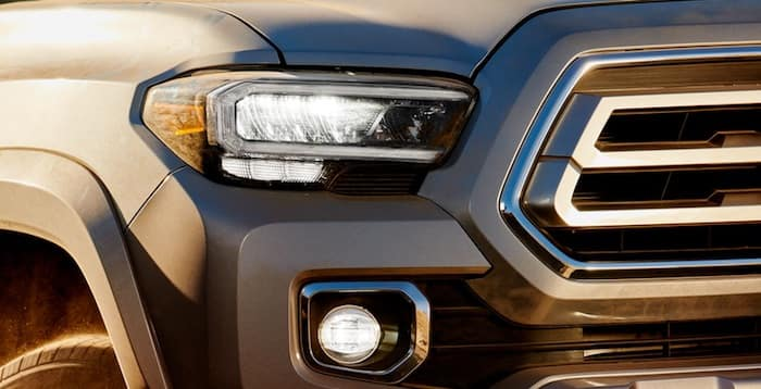 2020 Toyota Tacoma Available LED headlights