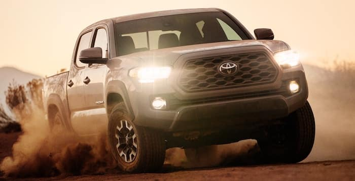 2020 Toyota Tacoma exterior redesign