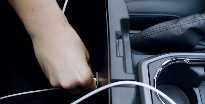 2020 Toyota Tacoma USB charge ports