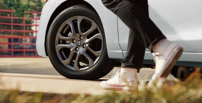 2020 Toyota Yaris 16-in. split-spoke alloy wheels