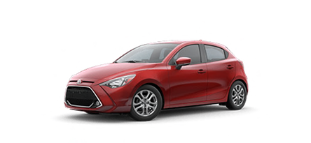 2020 Toyota Yaris LE Hatchback model for sale at Ventura Toyota near Simi Valley