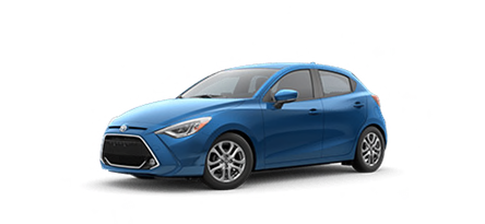 2020 Toyota Yaris XLE  Hatchback model for sale at Ventura Toyota near Woodland Hills