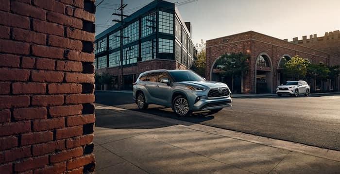 2020 Toyota Highlander captivating exterior design