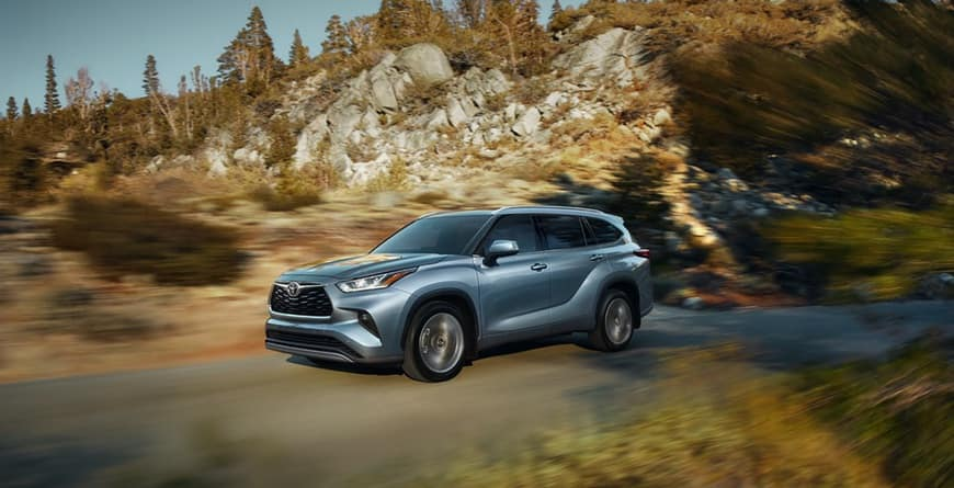 2020 Toyota Highlander refined drive
