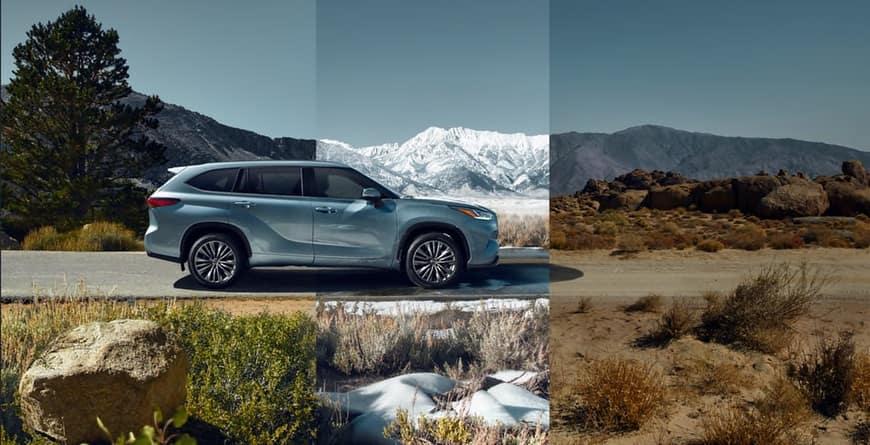 2020 Toyota Highlander multi-terrain select