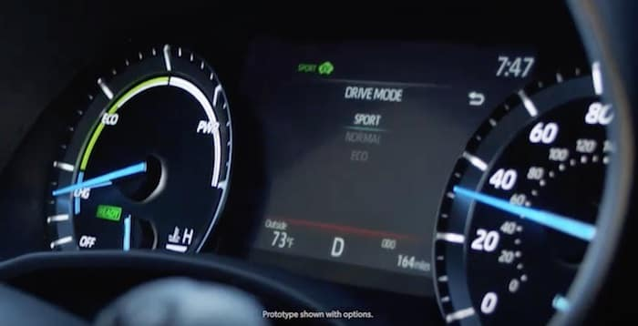 2020 Toyota Highlander available drive modes