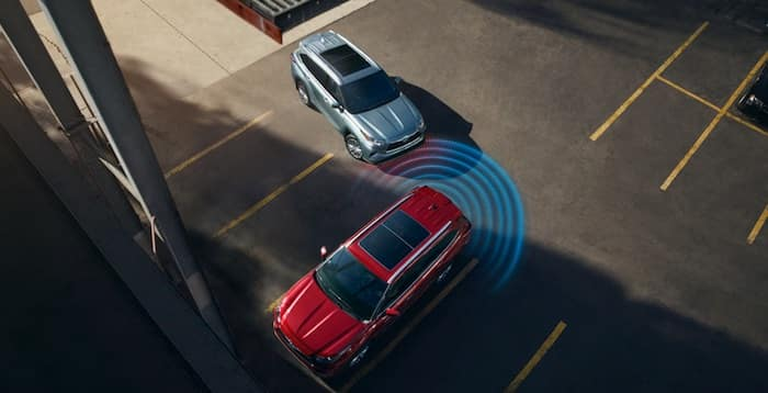 2020 Toyota Highlander Front and Rear Parking Assist with Automated Braking (PA w/AB)