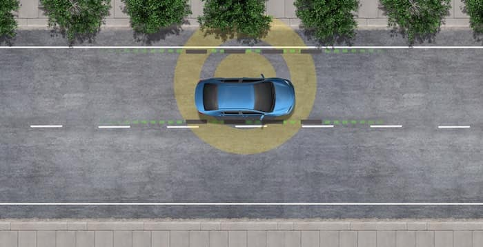 2020 Toyota Highlander Lane Departure Alert with Steering Assist