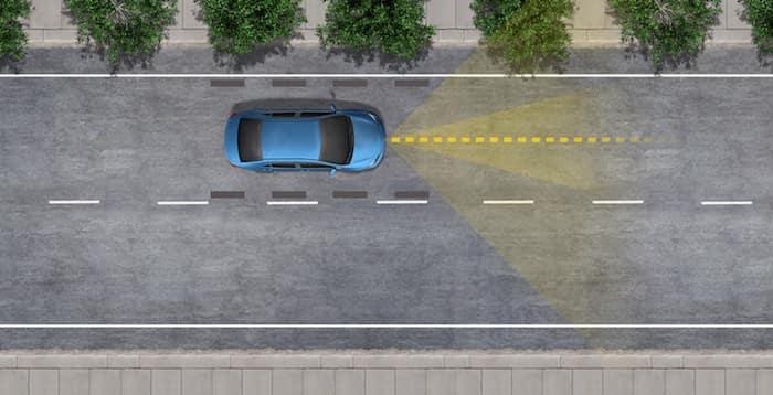 2020 Toyota Highlander Lane Tracing Assist
