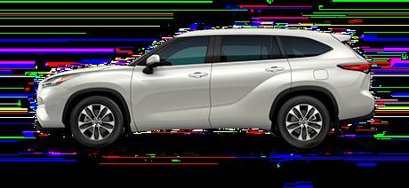 2020 Toyota Highlander XLE model for sale at Santa Barbara