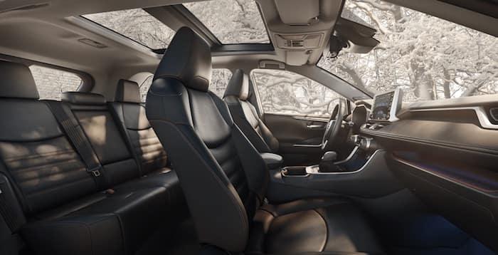 2020 Toyota RAV4 panoramic glass roof
