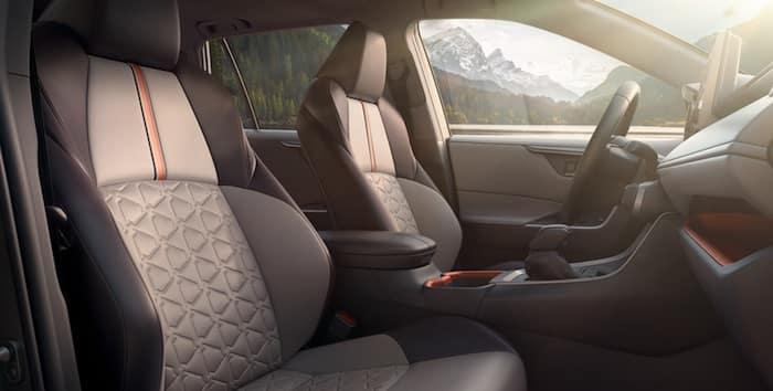 2020 Toyota RAV4 adventure grade seat design