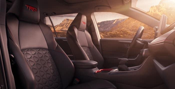 2020 Toyota RAV4 TRD Off-Road interior