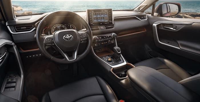 2020 Toyota RAV4 thoughtful interior
