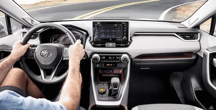 2020 Toyota RAV4 drive modes