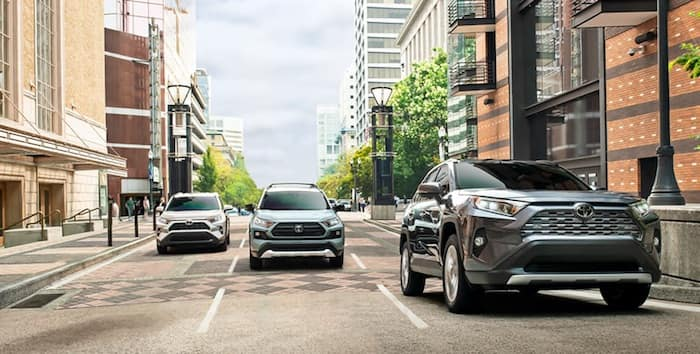 2020 Toyota RAV4 Front and Rear Parking Assist with Automated Braking