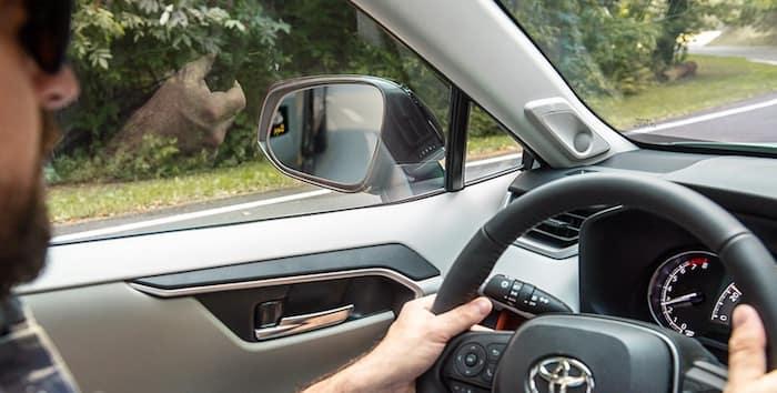 2020 Toyota RAV4 Blind Spot Monitor with Rear Cross-Traffic Alert