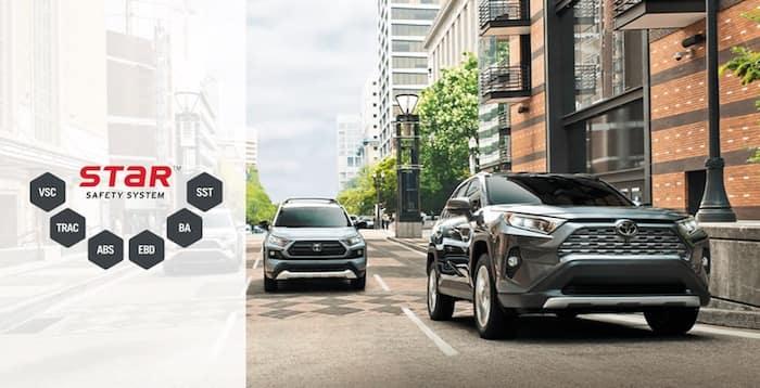 2020 Toyota RAV4 Star Safety System™