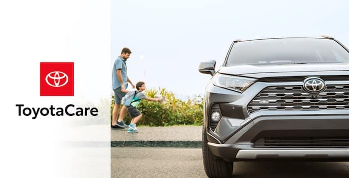 2020 Toyota RAV4 no cost maintenance plan and Roadside Assistance
