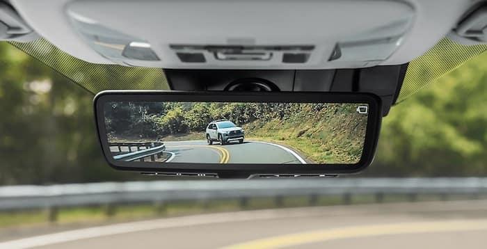 2020 Toyota RAV4 digital rearview mirror