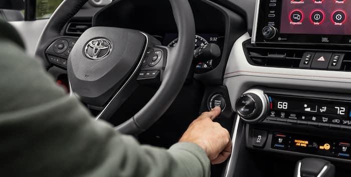 2020 Toyota RAV4 Smart Key System with Push Button Start
