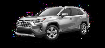 2020 Toyota RAV4 Limited Hybrid model for sale at Ventura Toyota near Santa Barbara