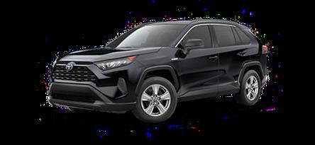 2020 Toyota RAV4 LE Hybrid model for sale at Ventura Toyota near Thousand Oaks