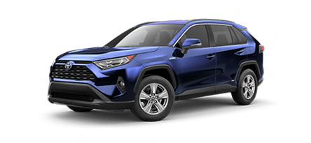 2020 Toyota RAV4 XLE Hybrid model for sale at Ventura Toyota near Santa Barbara