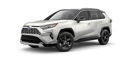 2020 Toyota RAV4 XSE Hybrid model for sale at Ventura Toyota near Thousand Oaks