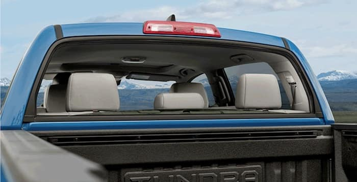 2020 Toyota Tundra rear power window
