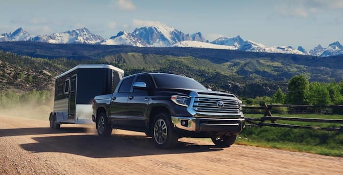 2020 Toyota Tundra payload & towing