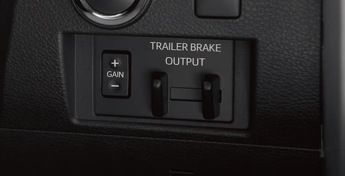 2020 Toyota Tundra Integrated Trailer Brake Controller/Trailer-Sway Control