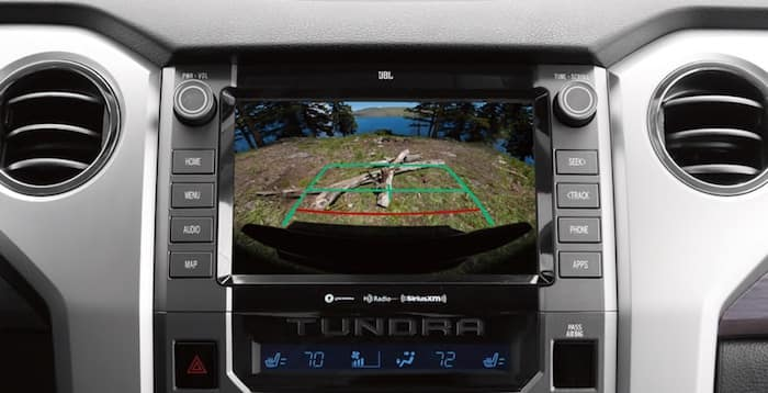 2020 Toyota Tundra standard backup camera