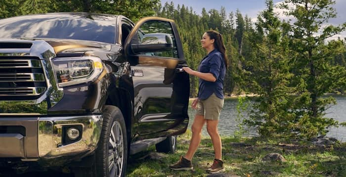 2020 Toyota Tundra available Smart Key System