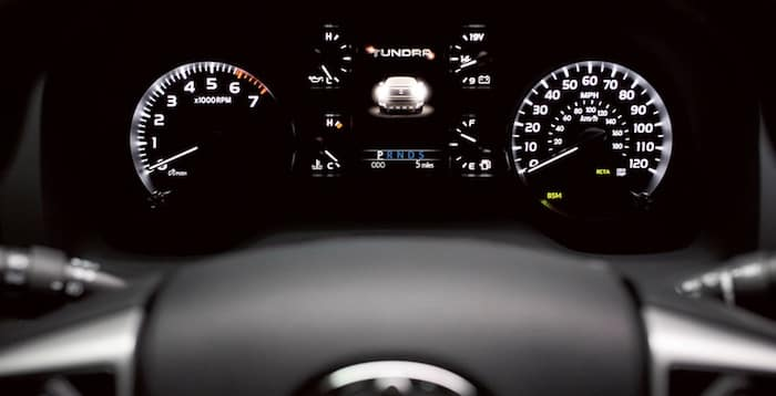 2020 Toyota Tundra Multi-Information Display
