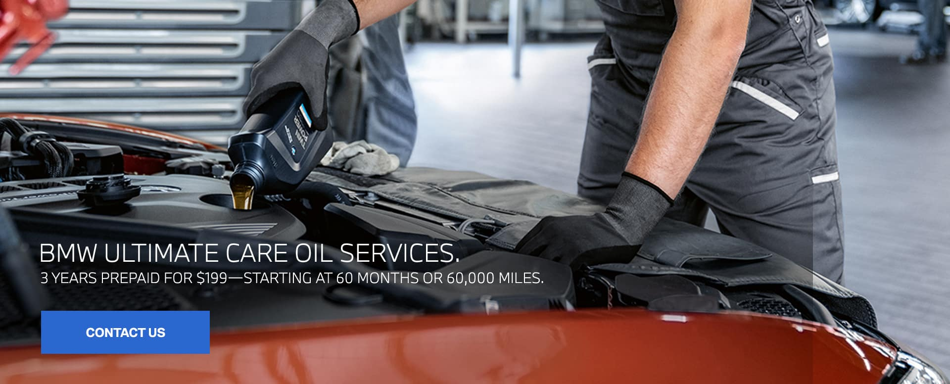 BMW Ultimate Oil Care Service