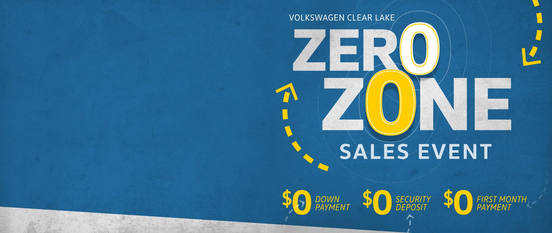 Volkswagen Clear Lake ZERO Zone sale Grand Opening Sale