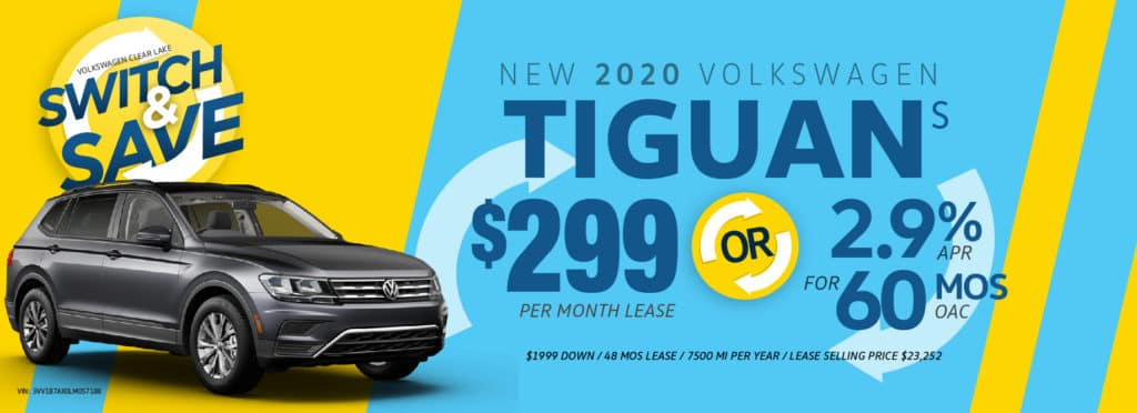 Switch to a Tiguan and Save at Volkswagen Clear Lake!