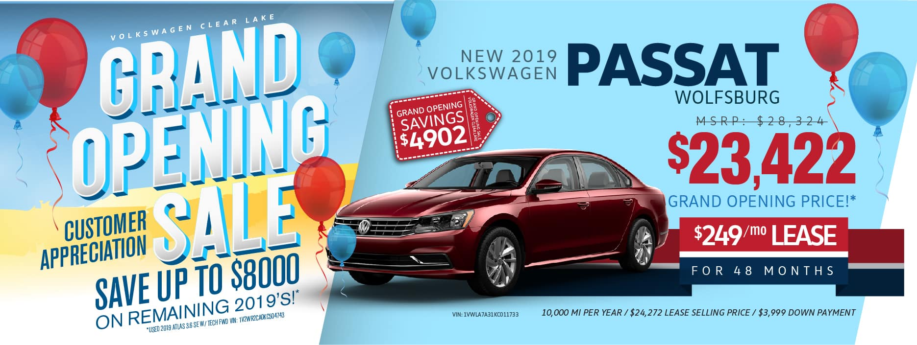 VW Clear Lake Grand-Opening Passat