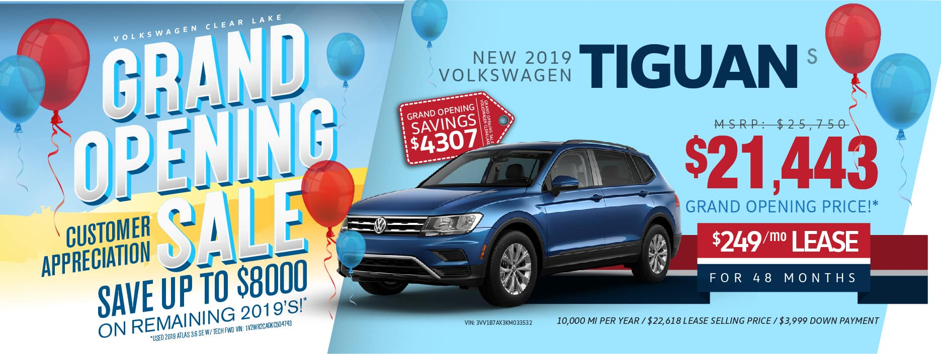 VW Clear Lake Grand-Opening Tiguan