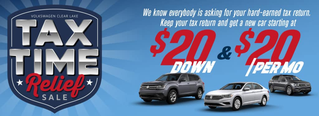 Don't miss our $20 Tax Time Relief Sale!