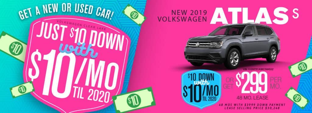 VW Clear Lake 2019 VW Atlas